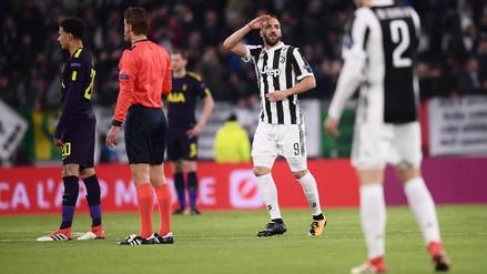 Juventus sorprendió al Tottenham con un gol madrugador de Gonzalo Higuaín