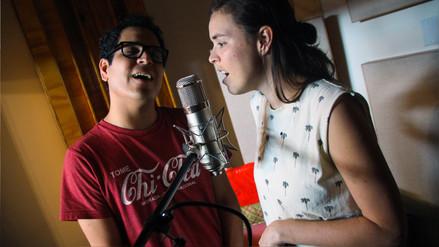 Alejandro y Maria Laura: el amor dentro y fuera del escenario