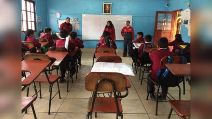 Alumnos perjudicados por cierre de escuela en Quiruvilca