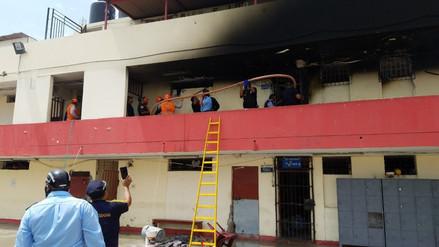 Cinco muertos y 19 heridos en incendio de centro de rehabilitación de Trujillo