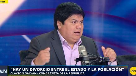 Galván dijo que más congresistas de Fuerzas Popular se abstendrían en nueva votación por vacancia