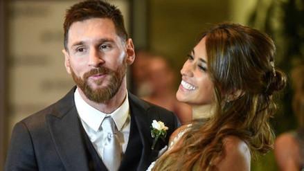 Lionel Messi recibió un emotivo mensaje de Antonella Roccuzzo por San Valentín