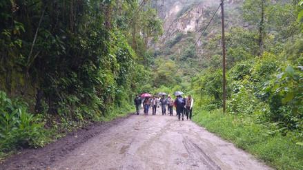 Anuncian inspección de la vía Hiram Bingham en Machu Picchu