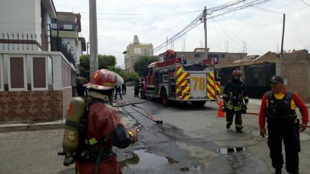 Controlan fuga de gas de carro cisterna de envasadora en Socabaya