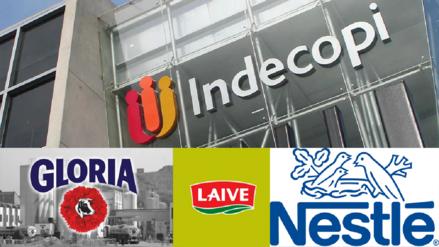 Indecopi multó a Gloria, Nestlé y Laive con S/4.42 millones por mal etiquetado de leches