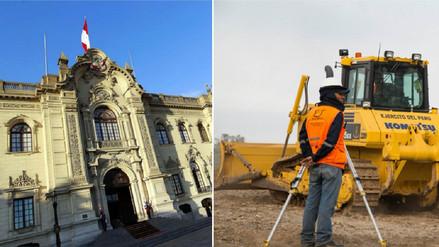 Nuevo decreto de urgencia: Gobierno establece medidas para financiamiento de proyectos
