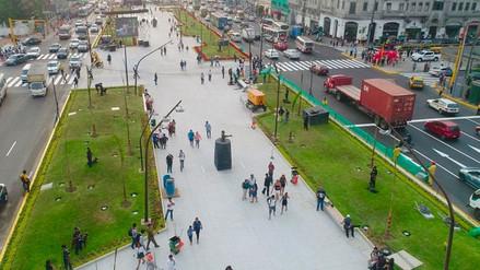 La Municipalidad de Lima reabrió la alameda de 28 de julio tras casi 3 años de obras