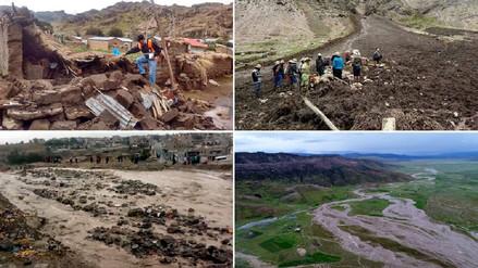 Lluvias y huaicos en el sur dejaron tres muertos y viviendas colapsadas