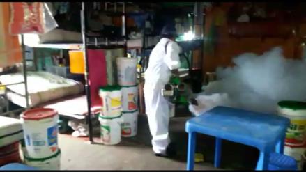 Fumigan penal de Chiclayo contra plaga de moscas y zancudos