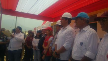 Gobierno entrega viviendas a damnificados por Niño costero en Trujillo