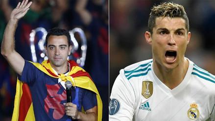 Xavi criticó a Cristiano: