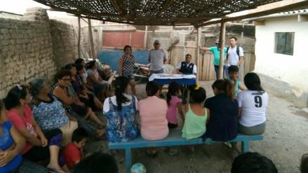 Conforman brigadas en 20 pueblos jóvenes vulnerables por lluvias