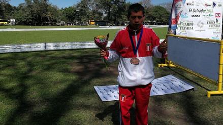 Peruano Pacheco ganó medalla de bronce en Panamericano de Cross Country