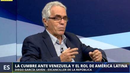García–Sayán dijo que el ingreso de Maduro