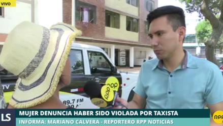 Una mujer denunció que fue violada por un taxista de aplicativo