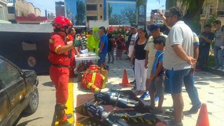 Compañía de Bomberos de Chiclayo requiere de 50 bomberos para cubrir servicio