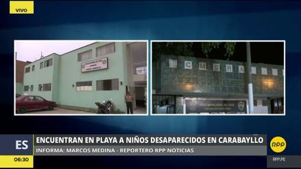 Encontraron en una playa del Cono Norte a los dos niños desaparecidos en Carabayllo