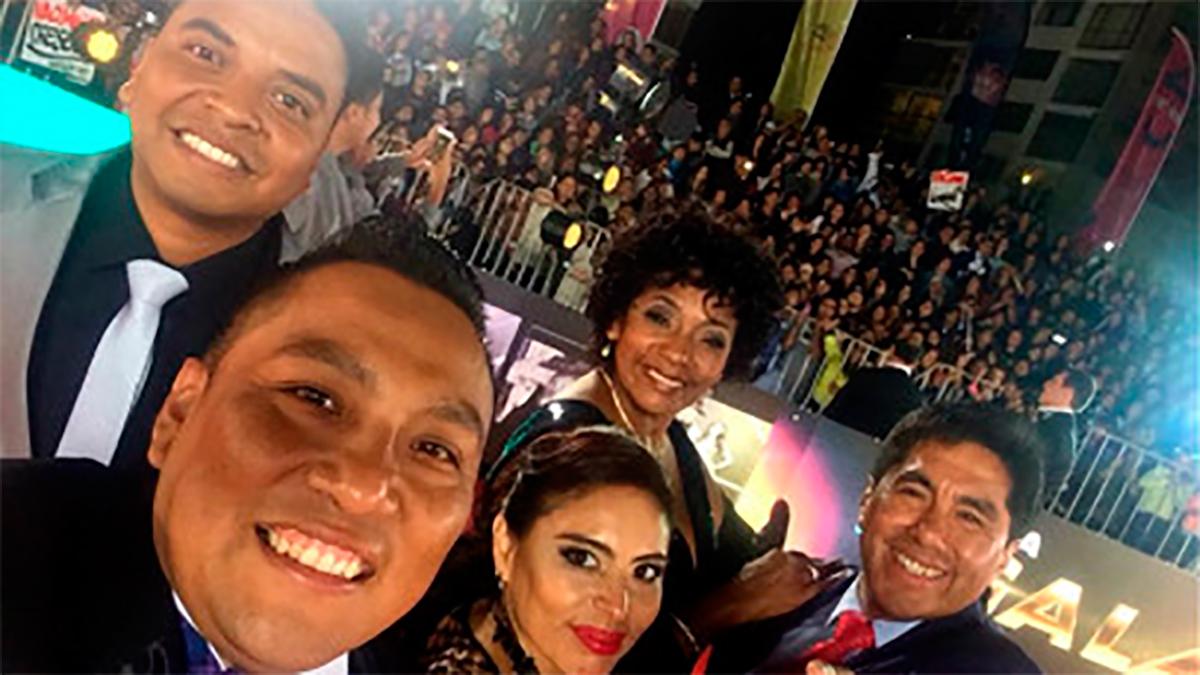 Viña del Mar 2018: Peruanos de Cosa Nuestra se lució en la alfombra roja