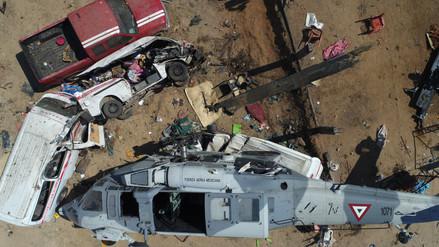 Terremoto en México: aumentan a 13 los muertos por caída de helicóptero