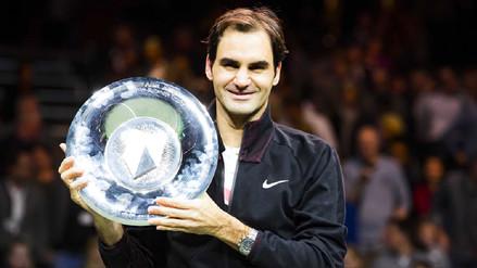 Roger Federer derrotó a Grigor Dimitrov y se llevó el ATP de Rotterdam