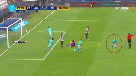 La gran jugada personal que acabó en gol de Josepmir Ballón