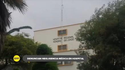 Denuncian presunta negligencia médica en el Hospital regional de Arequipa