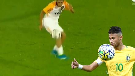 YouTube | Volante argentino intentó imitar a Neymar con esta jugada