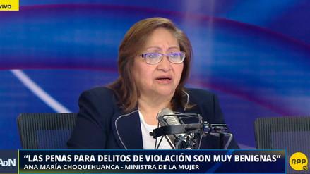 La ministra de la Mujer sobre caso de Arlette Contreras: