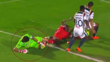 Lo que se sabe de la lesión de Pedro Gallese en el último duelo de Veracruz