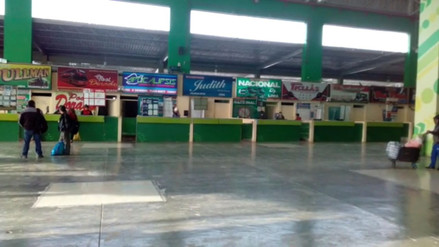 Suspenden venta de pasajes en terminal de Huancayo por paro de transportistas