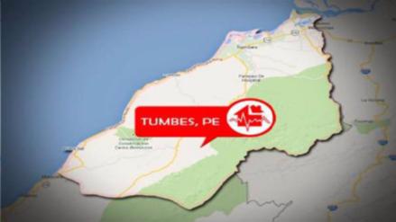 Sismo de magnitud 3.5 se registró en Tumbes