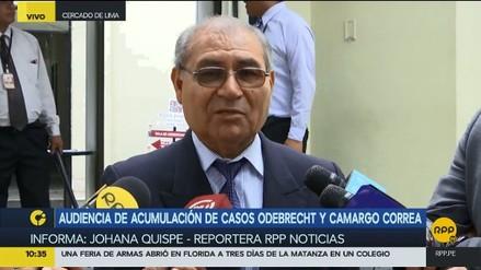 """Defensa de Toledo dijo que acumulación de las investigaciones """"perjudicaría el avance del  proceso"""""""