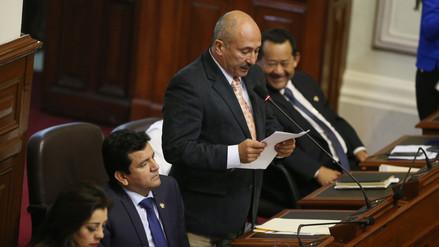 Congresista fujimorista Miguel Elías dijo que se abstendría en una nueva moción de vacancia