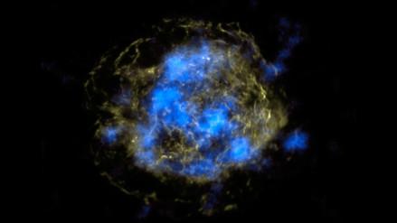 Astrónomos descubren una explosión cósmica de hace 10,500 millones de años