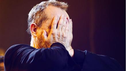 Viña del Mar | Miguel Bosé se quiebra al recibir 'Gaviota de oro'