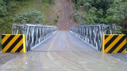 PROVIAS Descentralizado evalúa pedido de 30 puentes modulares