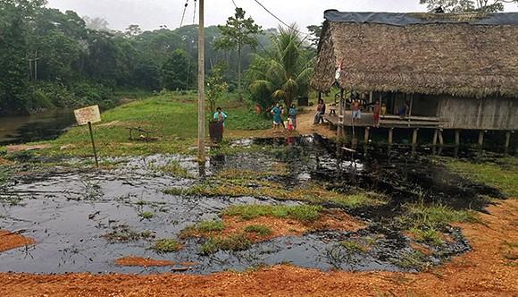 Nuevo derrame de petróleo se registró en el Lote 192 en Loreto