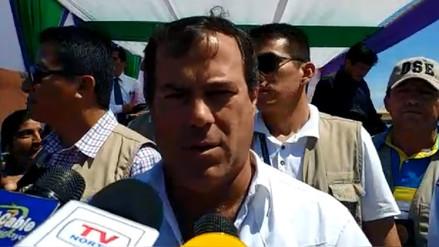 Ministro de Transporte inauguró vía Monsefú – Valle Hermoso