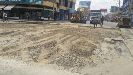 Cierre en avenidas Sánchez Cerro y Loreto continuará por dos días más