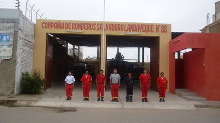 Por múltiples carencias bomberos de Lambayeque no atienden emergencias