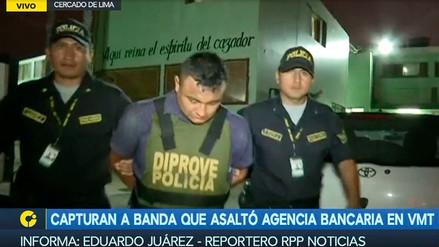 Policía captura a tres presuntos integrantes de la banda 'Los Elegantes'