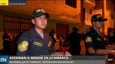 Una adolescente de 15 años fue asesinada en su vivienda en Jicamarca