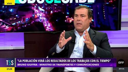 Giuffra dijo que el MTC trabaja en una alternativa a instalación de peaje en La Oroya