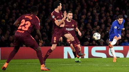 Barcelona empató ante el Chelsea y definirá su pase a cuartos en el Camp Nou