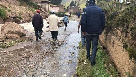 Jauja: desborde de río deja viviendas y sembríos inundados