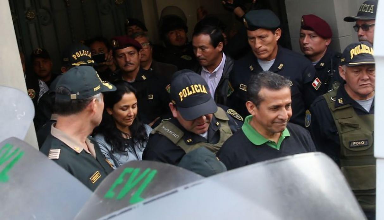 TC dejó al voto recurso presentado por Humala y Heredia para salir de prisión