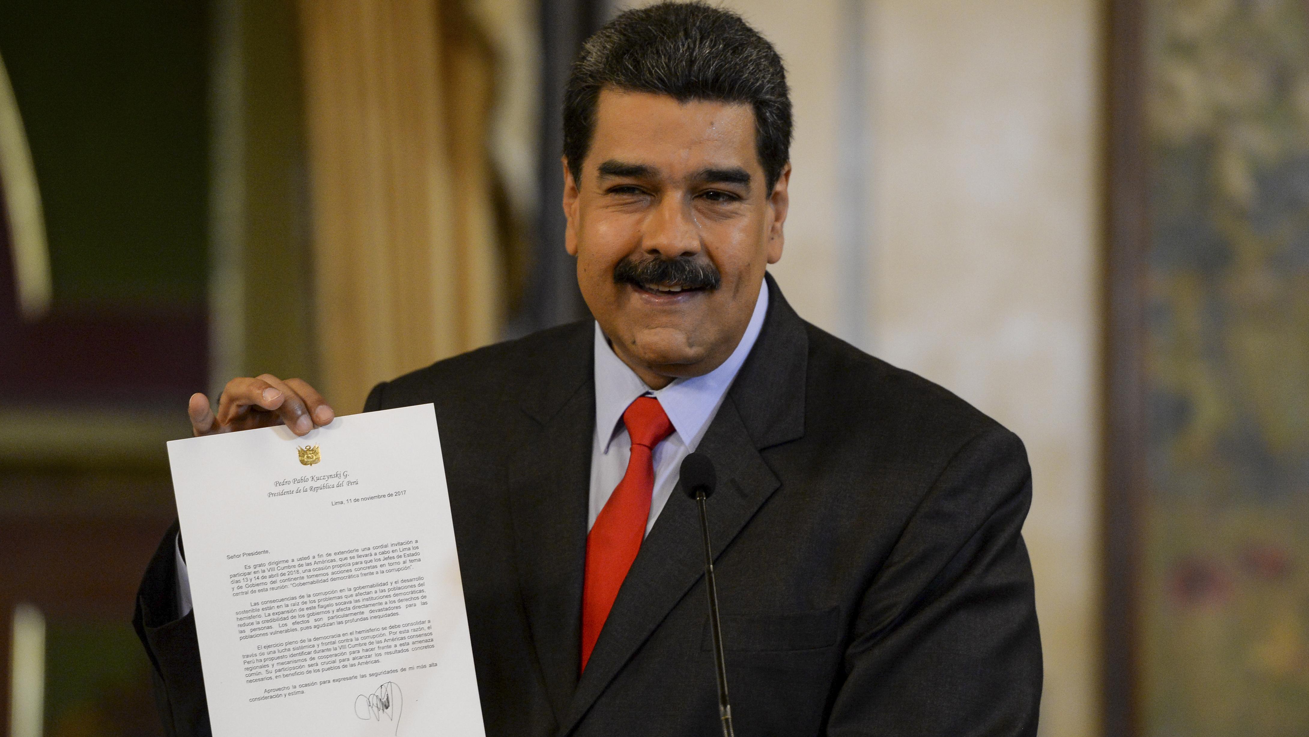 Ecuador defiende participación de Nicolás Maduro en Cumbre de las Américas