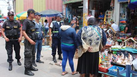Aumenta cifra de vendedores ambulantes en mercado Modelo de Chiclayo