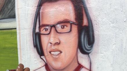Daniel Peredo fue inmortalizado con un mural en el Callao
