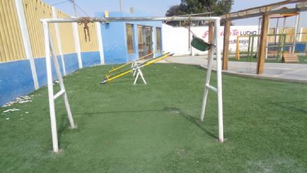 Contraloría advierte que juegos de parque infantil de Chimbote son un peligro